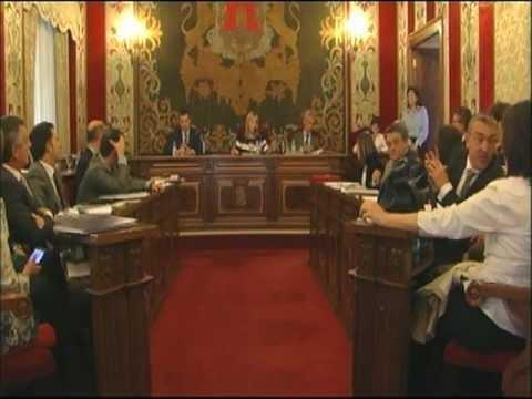 Pleno Ayuntamiento de Alicante 30-04-2012