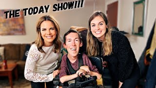 Behind the Scenes of the Today Show - We Interview Natalie Morales [CC]