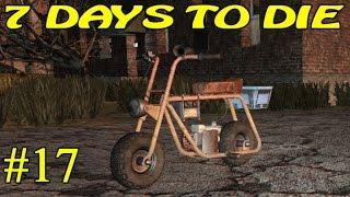7 Days to Die  Мотоцикл  17 16