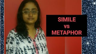 SIMILE & METAPHOR | SIMILE vs METAPHOR