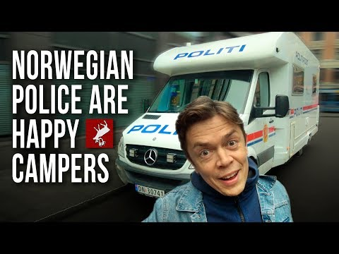 Norwegians Explained by a Police Car