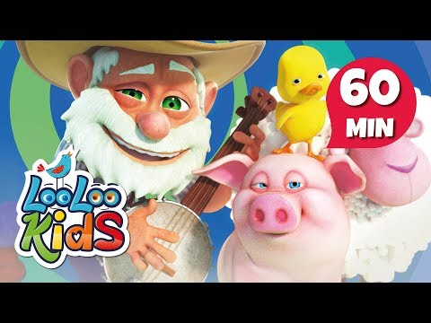 Old MacDonald Had a Farm - Learn English with Songs for Children | LooLoo Kids
