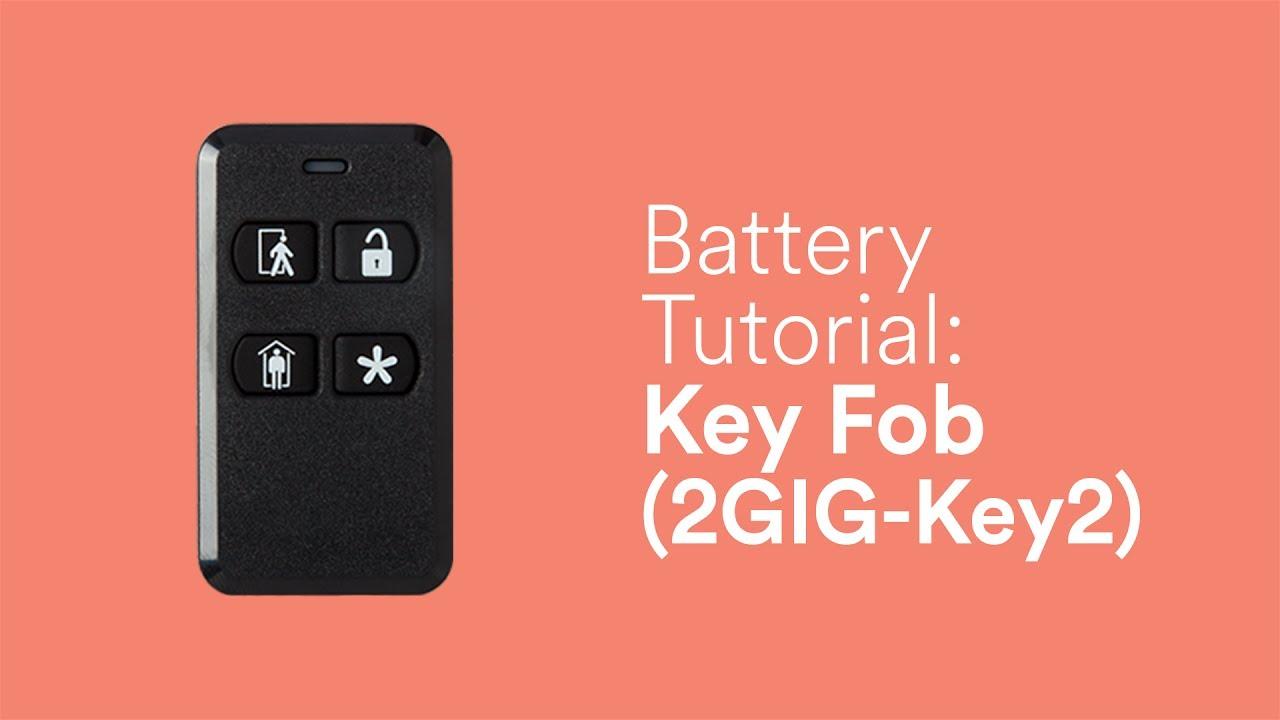 Battery Tutorial: Key Fob (2GIG Key2)