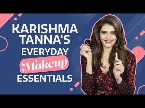 Karishma Tanna : What's in my makeup bag   Pinkvilla   Fashion   Bollywood