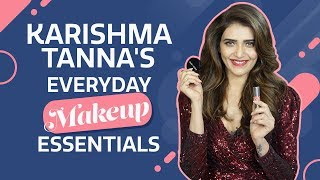 Karishma Tanna : What's in my makeup bag | Pinkvilla | Fashion | Bollywood