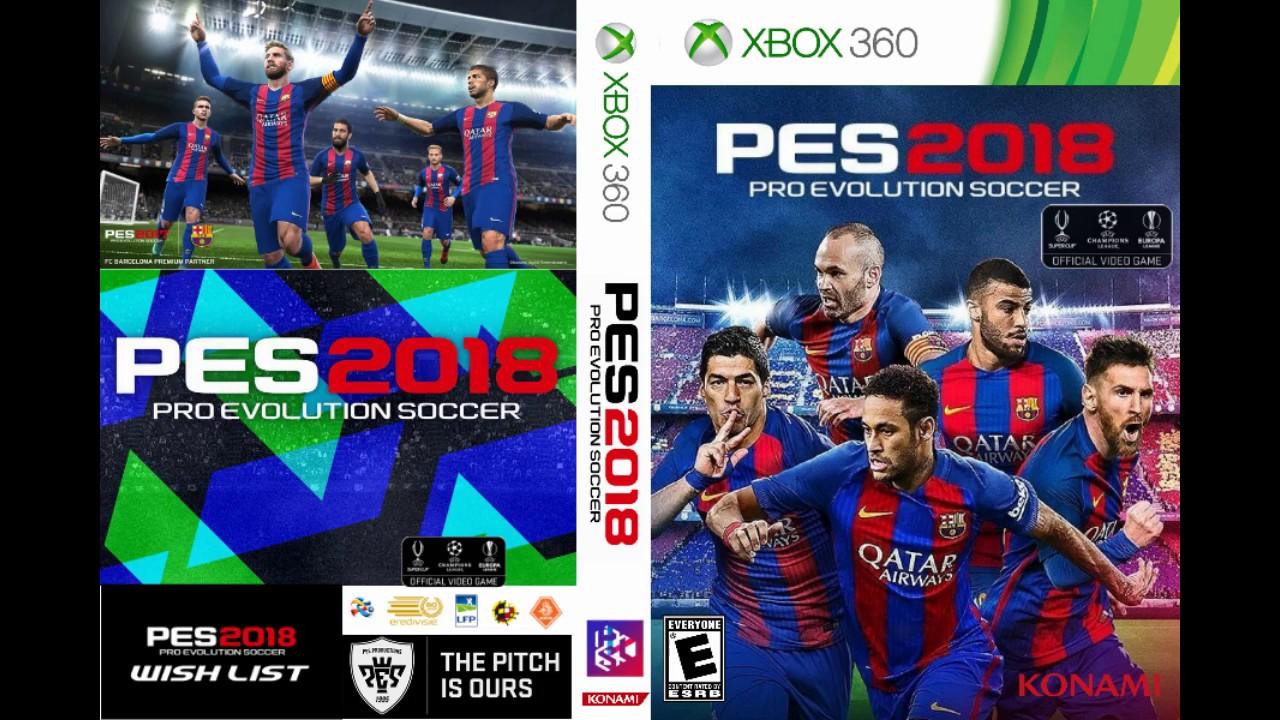 Descargar Pro Evolution Soccer 2018 Xbox 360 Rgh Espanol Latino