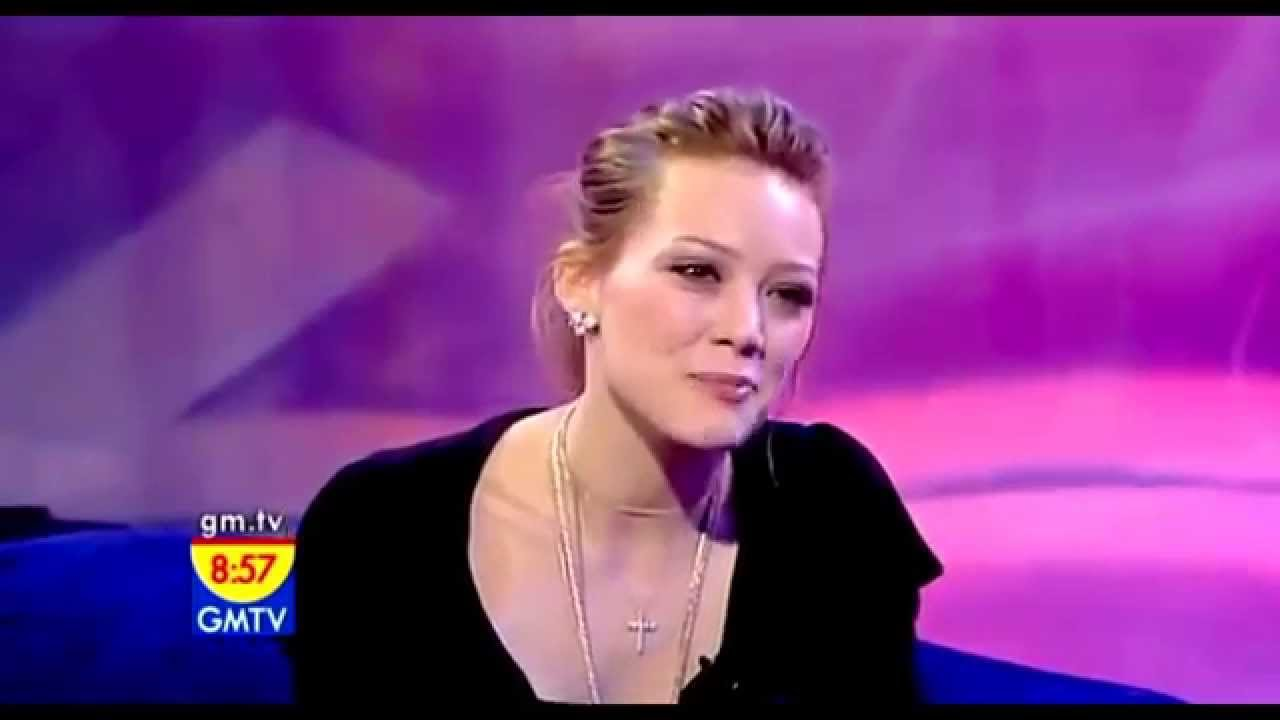 hilary duff interview on gmtv 2005 hd youtube