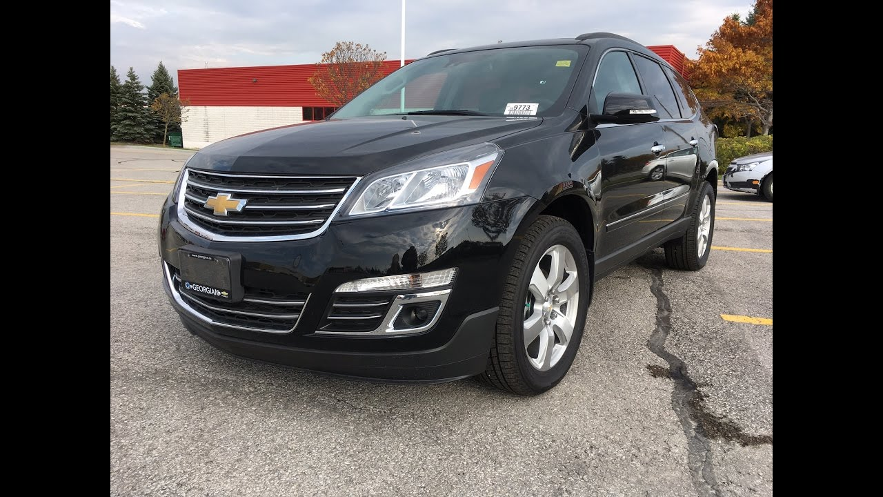 small resolution of 2017 chevrolet traverse ltz awd