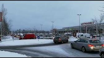Pilkon Citymarketin joululiikenne