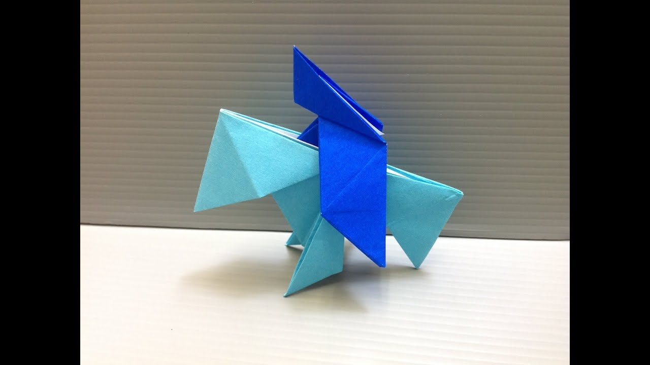 Daily Origami: 172  Knight On Horse