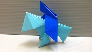 Daily Origami: 172 - Knight On Horse