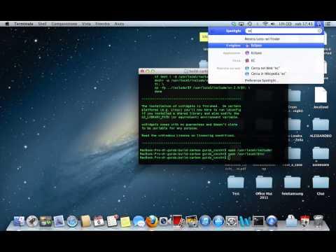 Come installare le librerie wxwidgets su OSX 10.8.3 Mountain Lion (Parte 2)