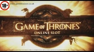 Game Of Thrones slot ALL FEATURES BIG WIN Microgaming