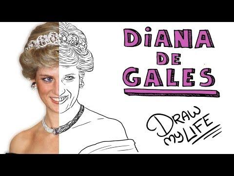 Download Youtube: LA TRISTE Hª DE DIANA DE GALES   Draw My Life 👸