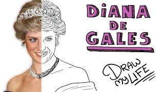 LA TRISTE Hª DE DIANA DE GALES | Draw My Life 👸