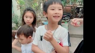 Về Quê thăm gà cùng Gia Đình Lý Hải Minh Hà
