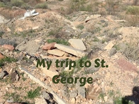 My trip to St  George