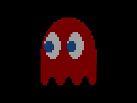 Lego Pac Man Ghost Animation