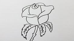 Dessin facile a faire et beau youtube - Comment dessiner une fleur facilement ...