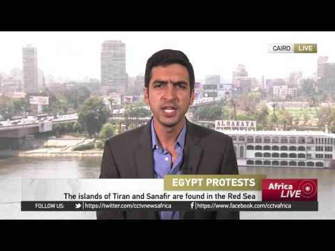 Security forces fire tear gas at protesters in Cairo