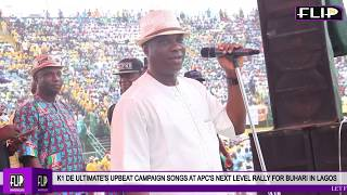 K1 DE ULTIMATE'S UPBEAT CAMPAIGN SONGS AT APC'S NEXT LEVEL RALLY FOR BUHARI IN LAGOS (1)