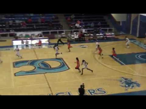 No. 7 South Plains Lady Texans vs No. 3 Odessa Highlights - Feb. 9, 2017 - Odessa, TX