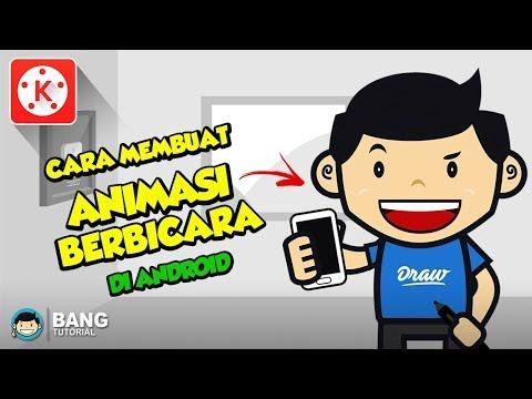 Cara Membuat Animasi Berbicara Di Hp Android | KINEMASTER TUTORIAL #15