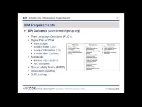 BIM REC Barie Hasib  Ralph Montague  How to compile a world class EIR on your BIM project