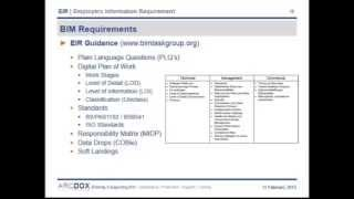 BIM REC Barie Hasib  Ralph Montague  How to compile a world class EIR on your BIM project