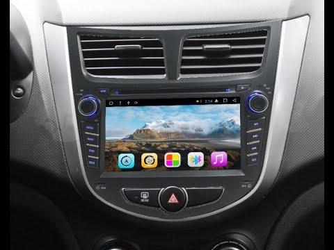 Штатная магнитола Hyundai Solaris, Accent, Verna (2011-2015) Android C1167300AD4