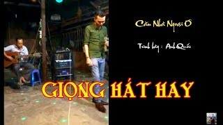 Căn Nhà Ngoại Ô / một giọng hát hay / video clip /quay trực tiếp giao lưu guitar BOLERO Lâm Thông