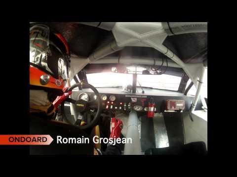 RACE OF CHAMPIONS Romain Grosjean Onboard cam - Bangkok 2012