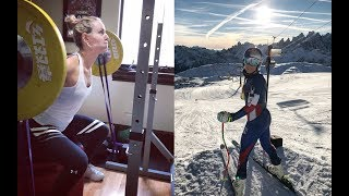 Lindsey Vonn training for Olympics 2018 | PyeongChang Winter Games