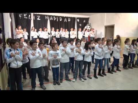 V deo festival navidad 2013 alumnos 1er ciclo e primaria - Colegio aparejadores teruel ...
