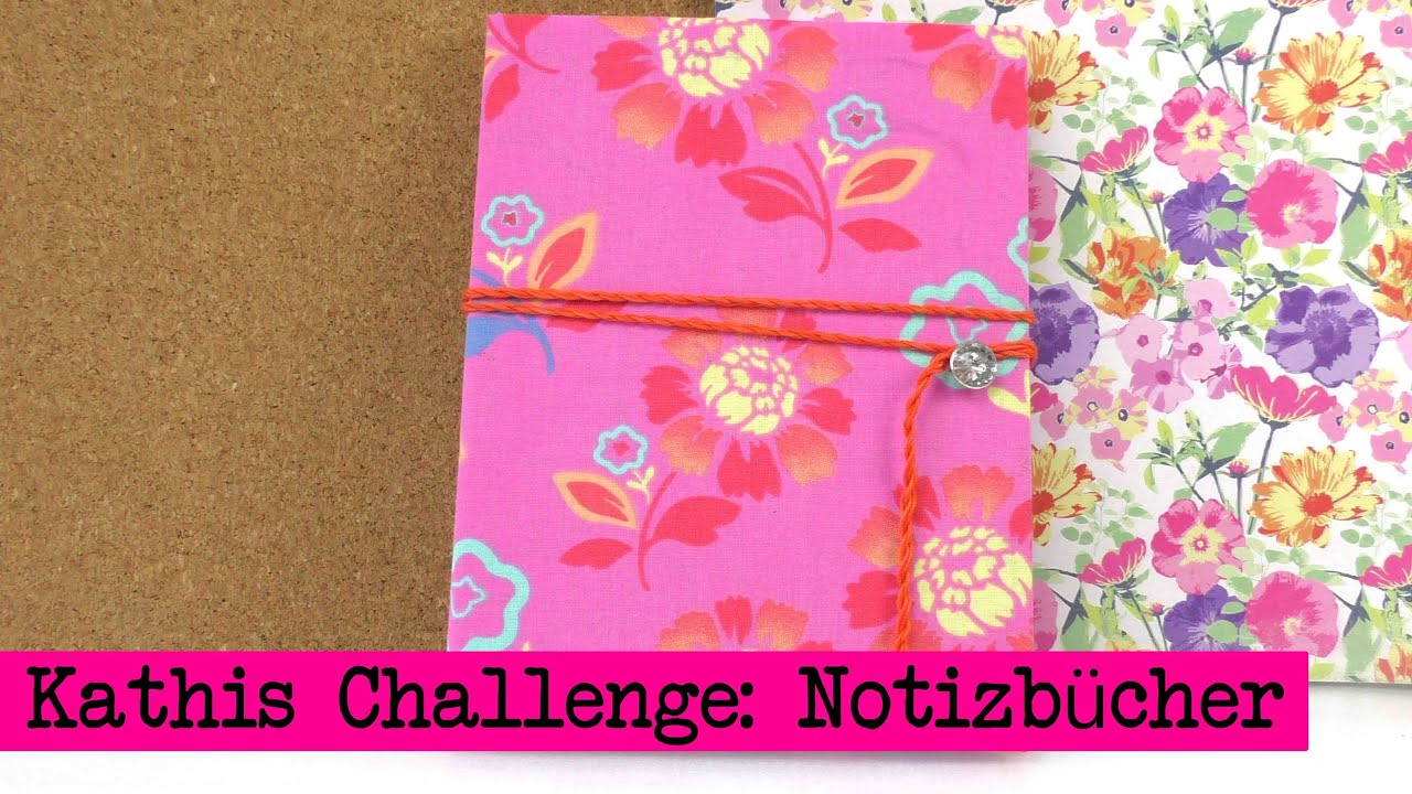 diy inspiration challenge 14 notizb cher kathis challenge tutorial do it yourself youtube. Black Bedroom Furniture Sets. Home Design Ideas