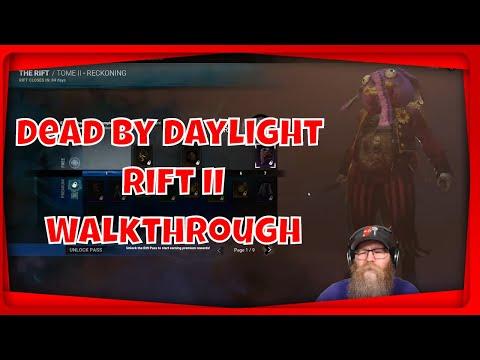 Dead By Daylight New Rift 2 Walkthrough Cosmetics