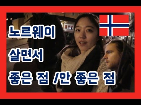 노르웨이 살면서 가장 좋은 점과 나쁜 점은 ? What's worst and best thing living in Norway  an interview with Norweigian