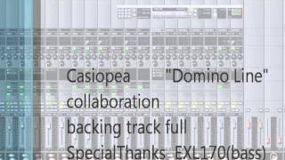 Casiopea Domino Line backing track full (collaboration)