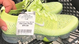 I FOUND A VAPORMAX THAT RESELLS FOR $400+ AT BURLINGTON!