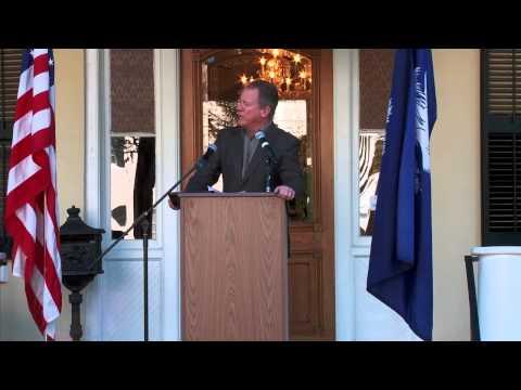 Civil Rights Ride 2013 - David Beasley, Former Governor of South Carolina