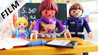 Playmobil Film Deutsch - LEHRERIN WIRD VERHAFTET! ZU FIES ZU SCHÜLERN? Schulfilm Familie Vogel