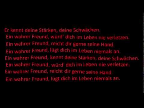 Liont - ein wahrer Freund [ Lyrics ]