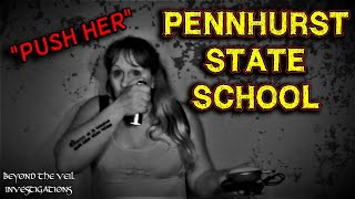 Ghosts of PENNHURST STATE SCHOOL Surrounded Me!! SCARY EVPs and Spirit Box Voices at Haunted Asylum