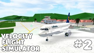 NEARLY COLLIDED WITH AN ANOTHER PLANE! | Velocity Flight Simulator TFFJ - TXKF #2 | Roblox