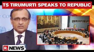 Indian Envoy To UN TS Tirumurti Exposes Pakistan On Terror Support, Underlines Need For Reforms