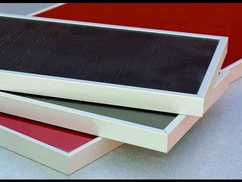 Как обшить фасад алюминиевым профилем. How to sheathe the facade of the aluminum profile.