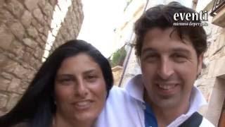 Angelo e Chiara. Sintesi. Eventi Mimmo Depergola.