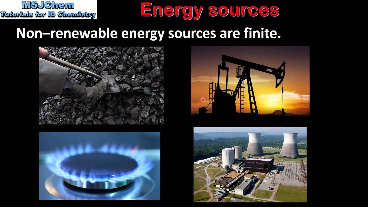 C.1 Renewable and non-renewable energy sources (SL) - YouTube