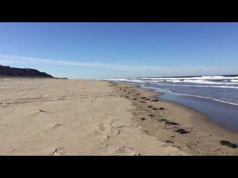 Panoramic View Of Coast Guard Beach In North Truro Massachusetts