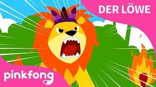 [Deutsch] Der Löwe | Tier - Lieder | Pinkfong Lieder für Kinder @Pinkfong, Baby Hai! Kinderlieder